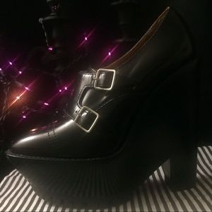 Authentic Burberry Prorsum Oxford Wedge Booties